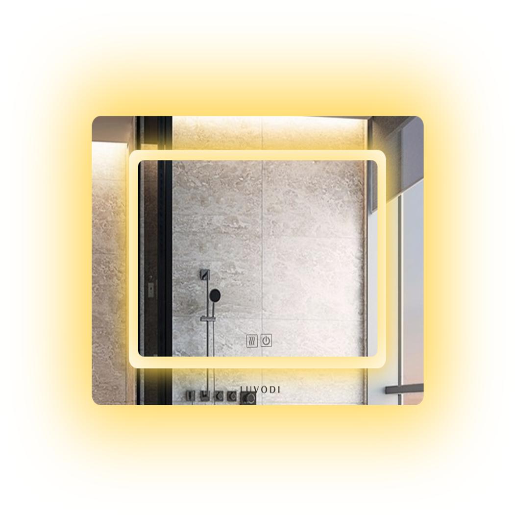 Lumineux DEL Miroir de salle-Brême