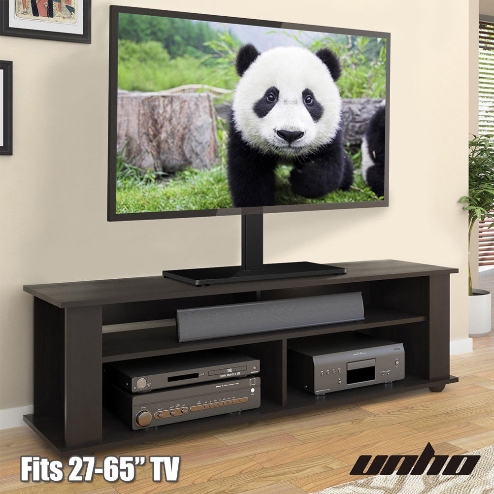 Universal Tv Stand With Swivel Mount For 32 To 65 Inch Flat Screen