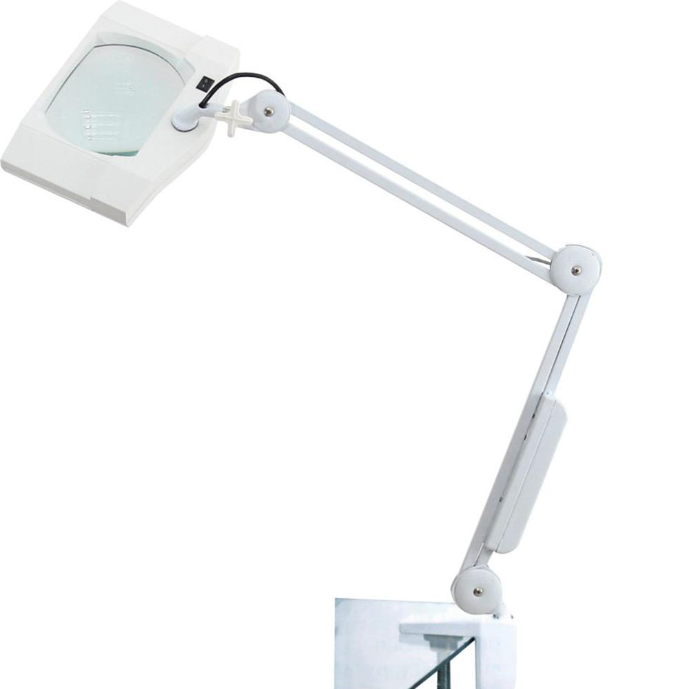 Professional magnifying magnifier lamp light free standingclamp professional magnifying magnifier lamp light free standingclamptable desk top geotapseo Gallery