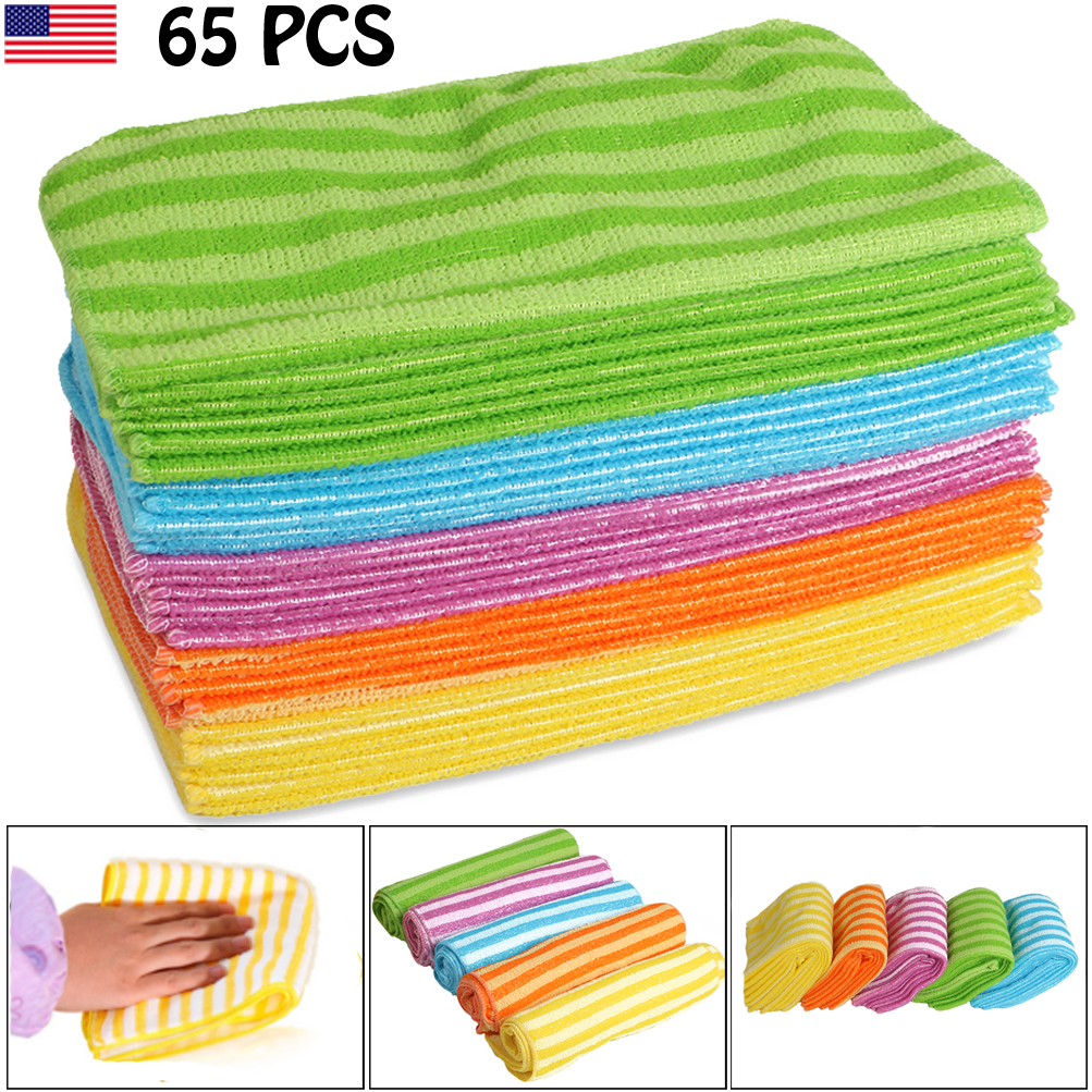 Microfiber Cloth Remove Scratches: Microfiber Cleaning Cloth Set Of 65 Towel Rag Car