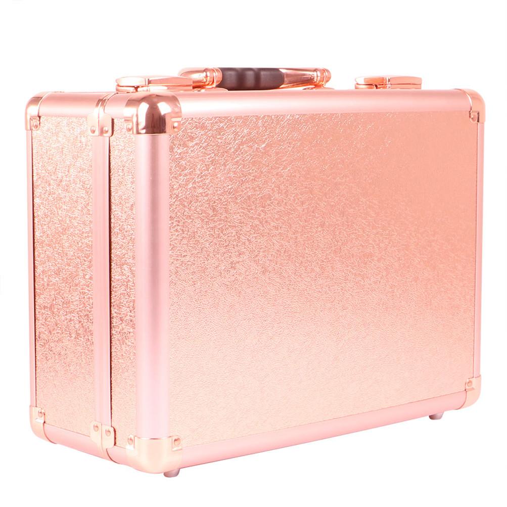 Pro Portable Studio Makeup Train Cosmetic Case Kit