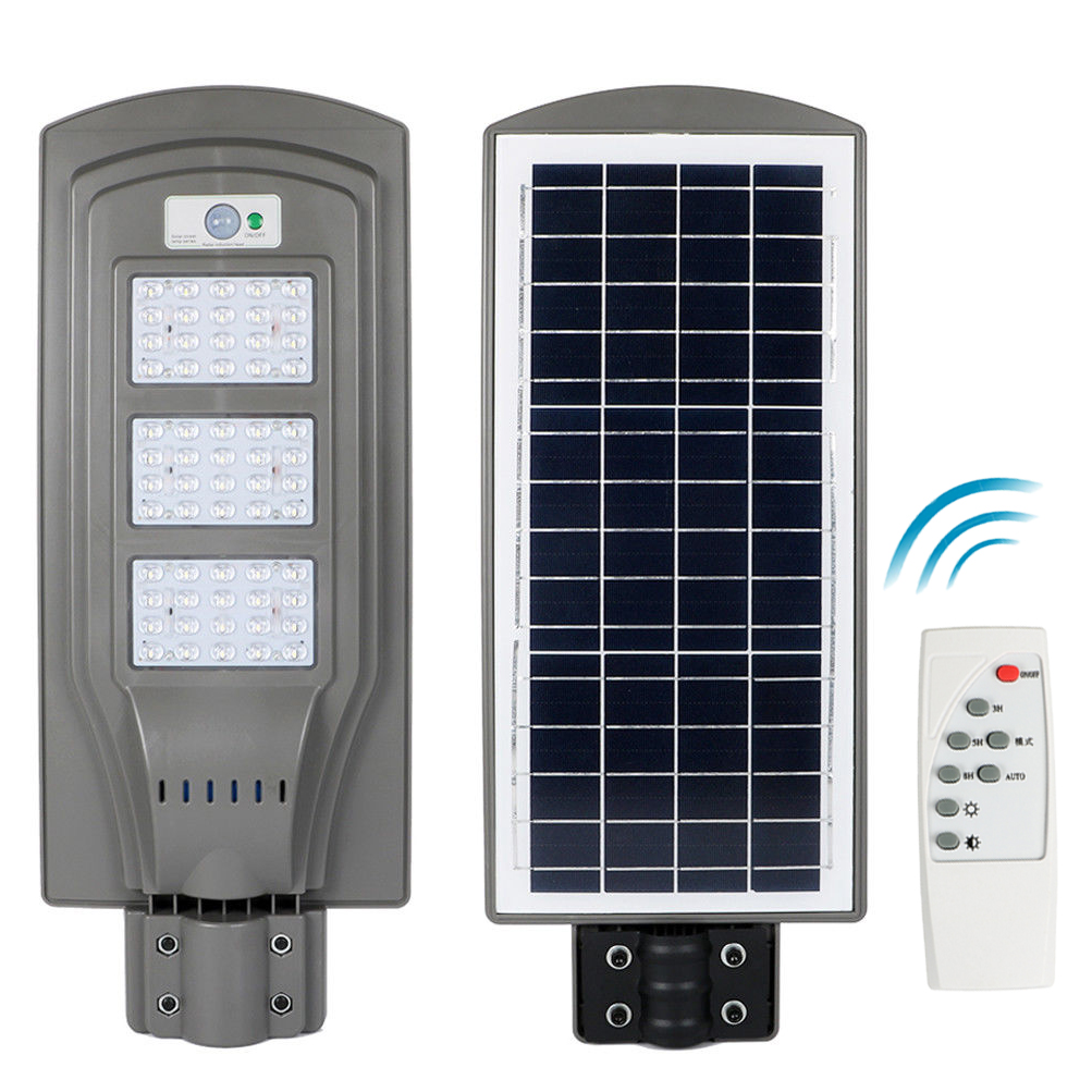 40w 60w Solar Street Light Smd Led Outdoor Garden Pathway