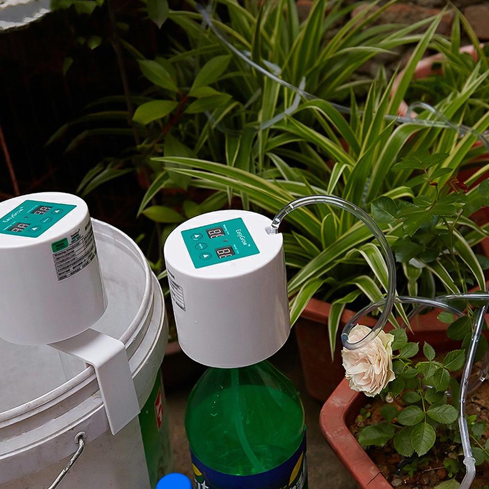Sistema de Riego por Goteo Drip Irrigation Automatic Set Plant Watering Garden