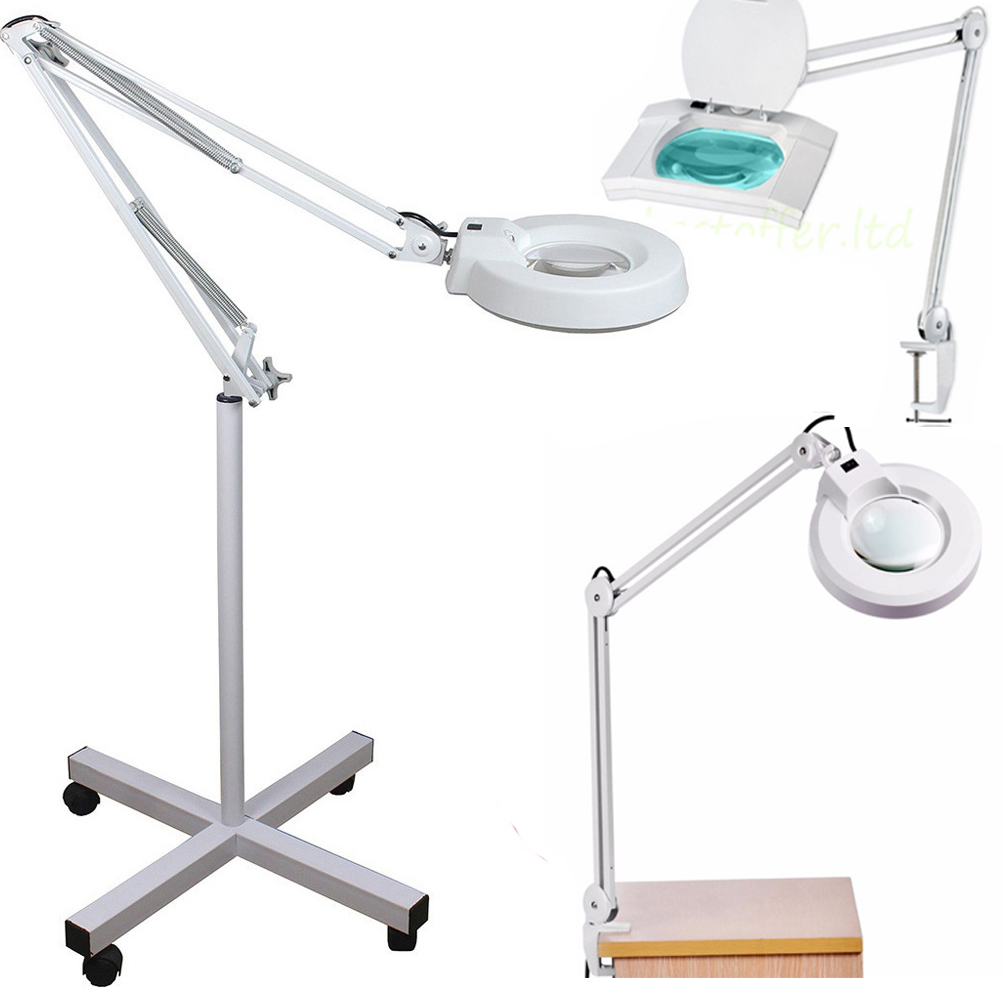 5x rolling floor magnifier lamp magnifying led facial salon nail 5x rolling floor magnifier lamp magnifying led facial salon nail art adjustable mozeypictures Choice Image