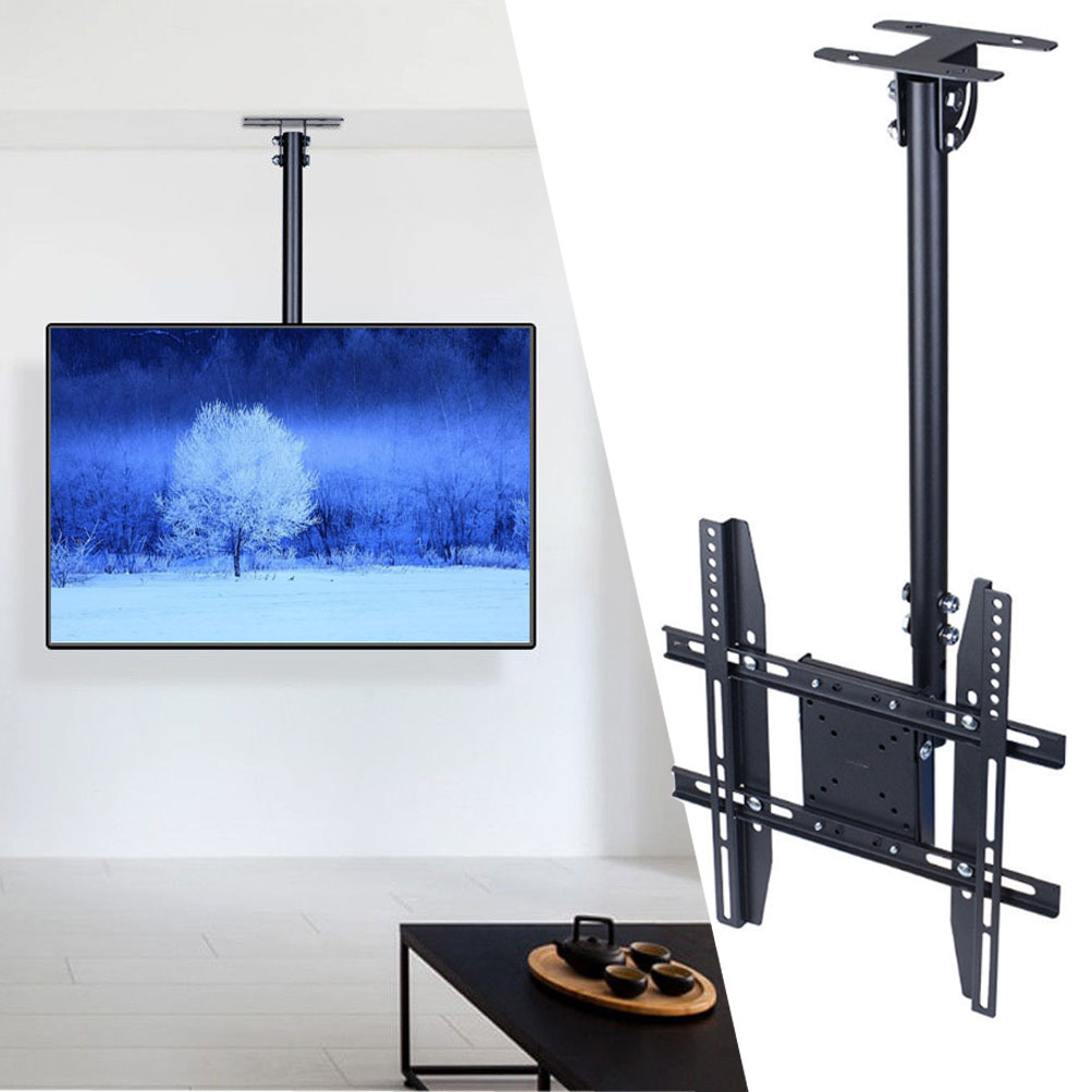 Ceiling Mount Tv Wall Bracket Roof Rack Pole Retractable