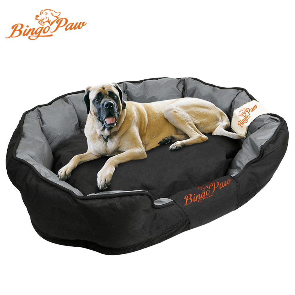 Jumbo Plus Waterproof Pillow Sofa Dog Bed Large Pet Bed Cushion Mat Washable Xxl Ebay