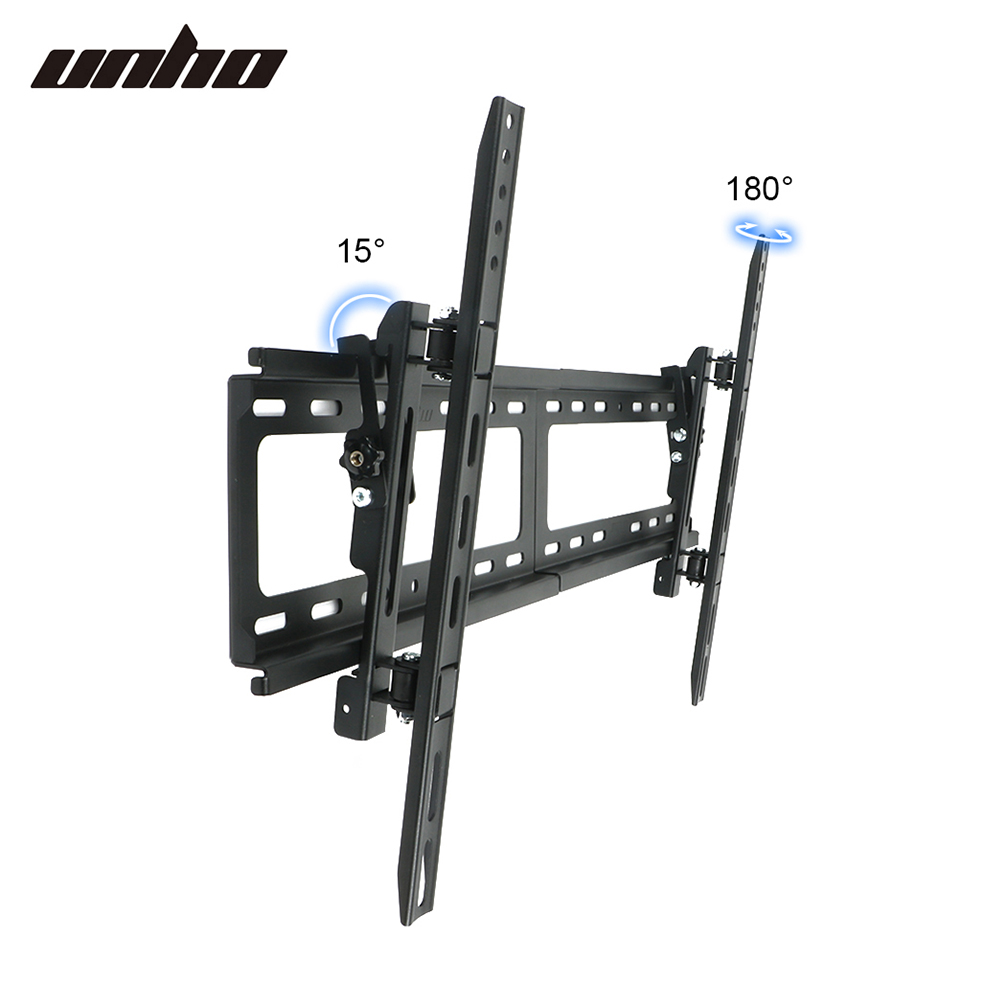 full motion swivel curved tv stand wall mount bracket for samsung uhd 32 75 inch ebay. Black Bedroom Furniture Sets. Home Design Ideas