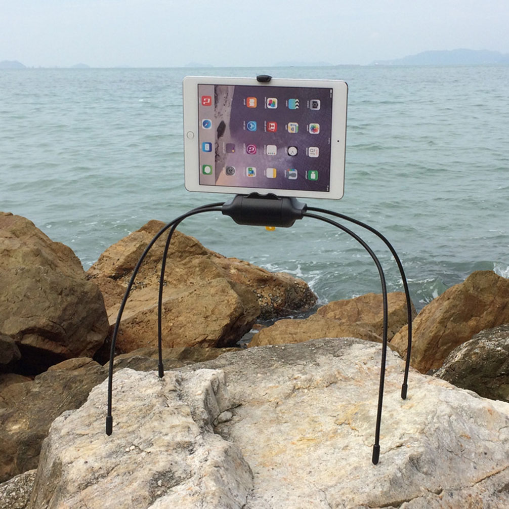 Tablet Stand iPad Holder Uneven Surfaces Bed Sofa Portable Flexible ...