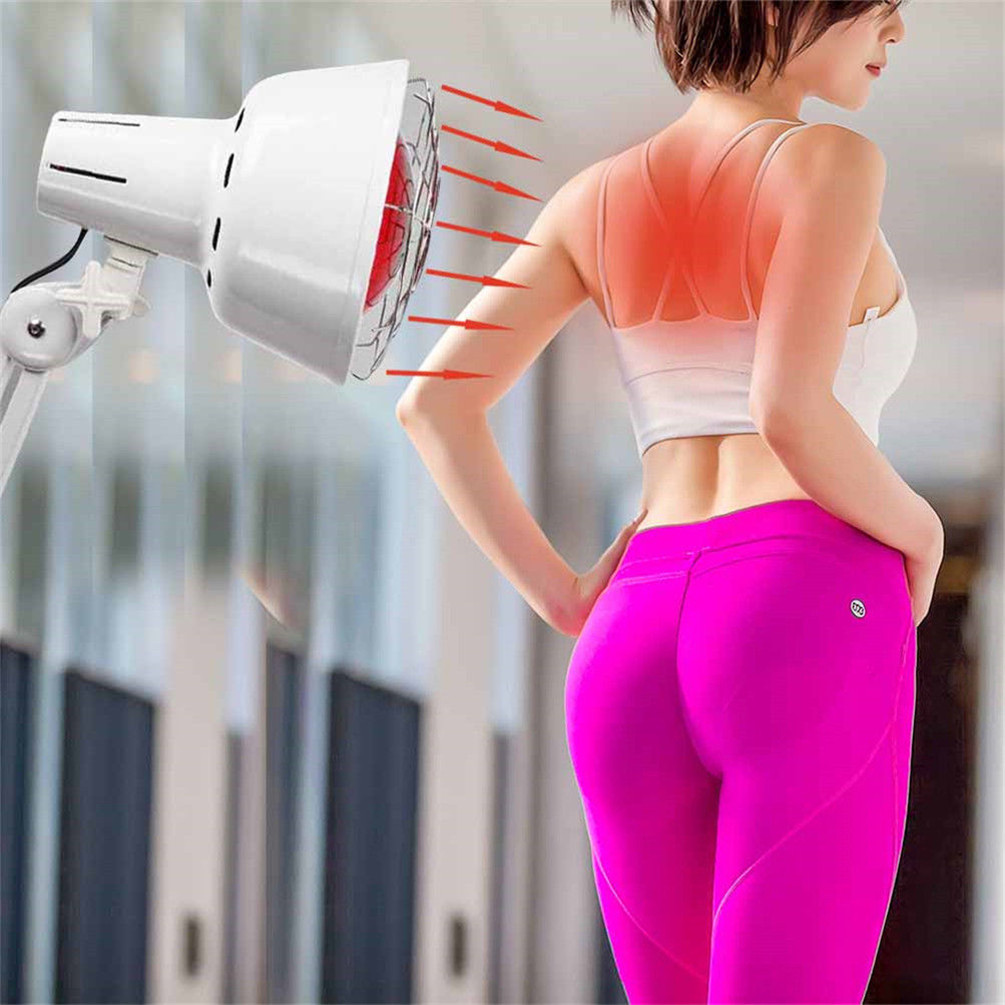 Portable Infrared Heat Lamp Muscle Skin And Acupuncture Therapy With Wheel Ebay