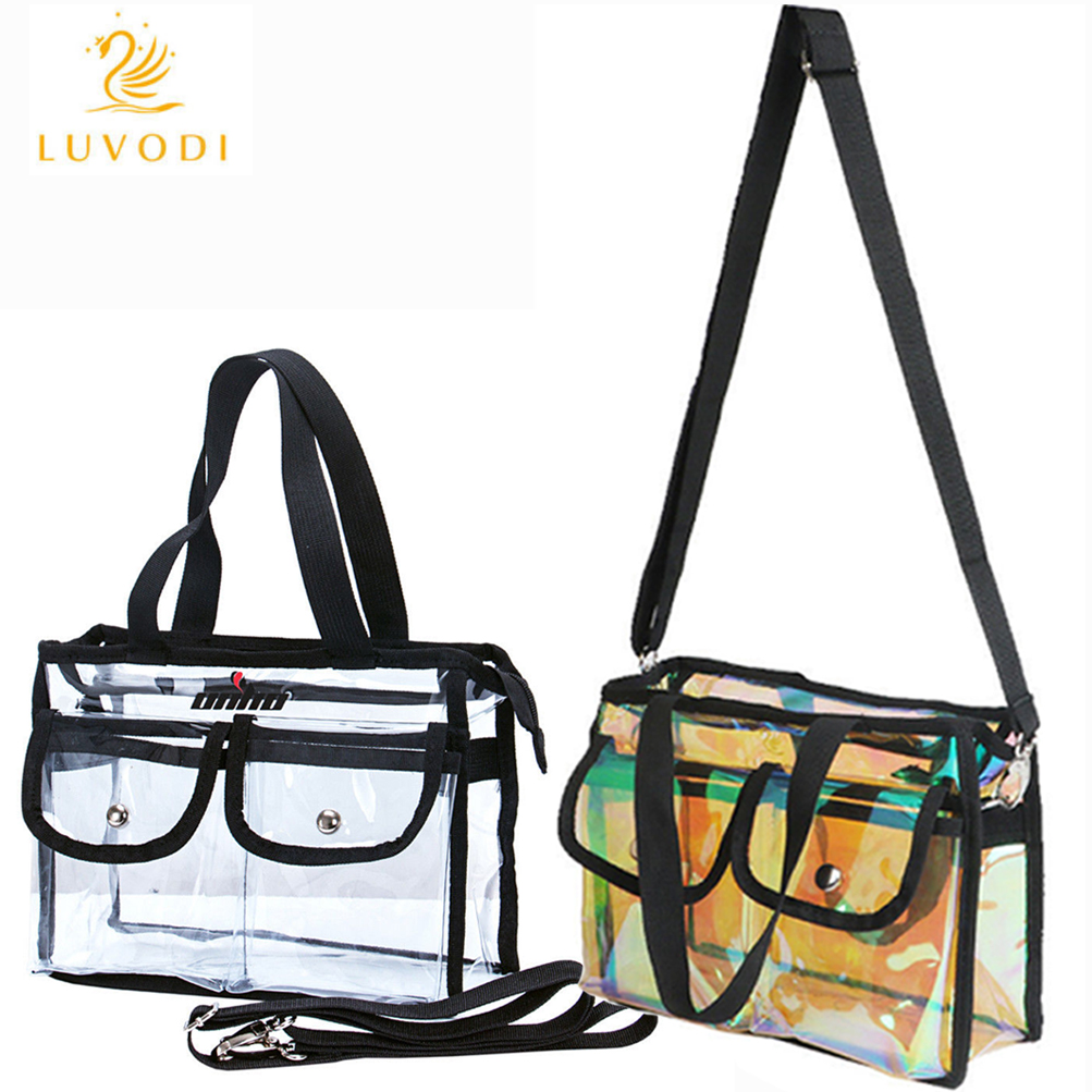 Clear Tote Bag Shoulder Perfect For Beach Sports Ping Concerts