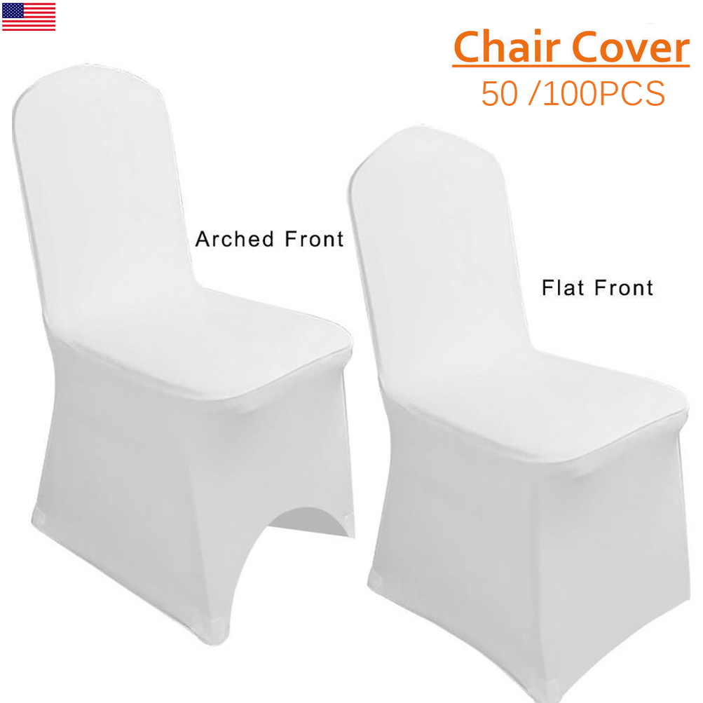 50/100 Folding Chair Covers Wedding Party Banquet Polyester Cover Fit Most  Chair