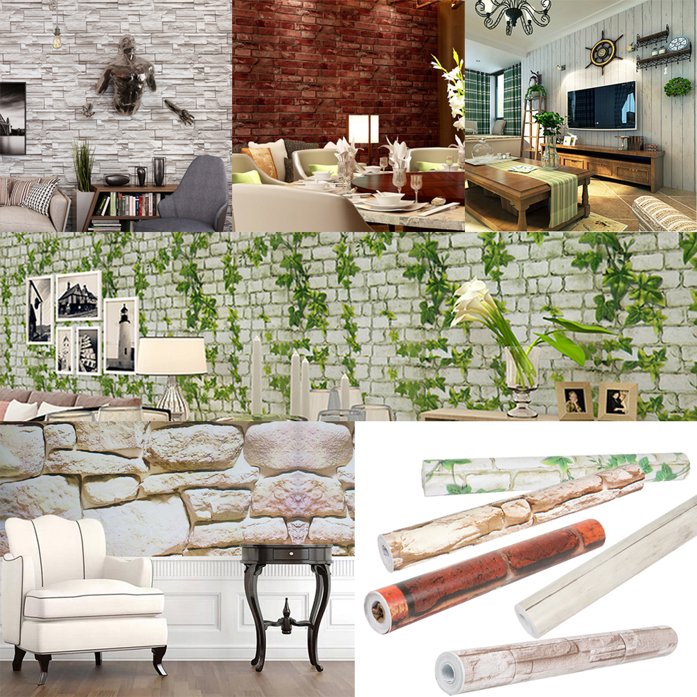 3d mural wallpaper self adhesive sitting room bedroom stone brickdetails about 3d mural wallpaper self adhesive sitting room bedroom stone brick background 10m
