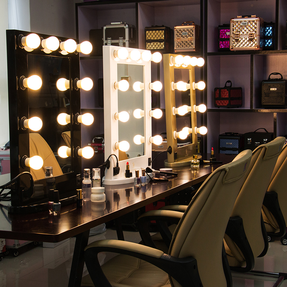 Hollywood Led Makeup Vanity Mirror Light Professiona Dressing Table Glass