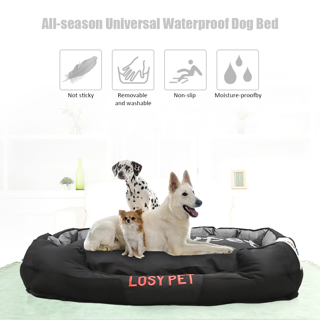 Waterproof Pillow Sofa Dog Bed Pet Cushion Mat Durable Xl 55inch Large Soft Washable Cover For Medium Extra