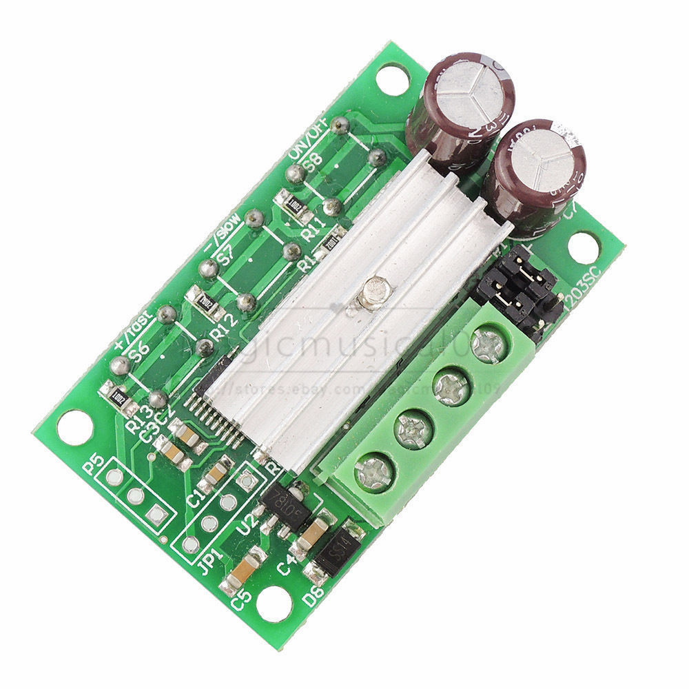 Push Button PWM DC Motor Speed Controller Switch DC 6V 12V 24V 3A