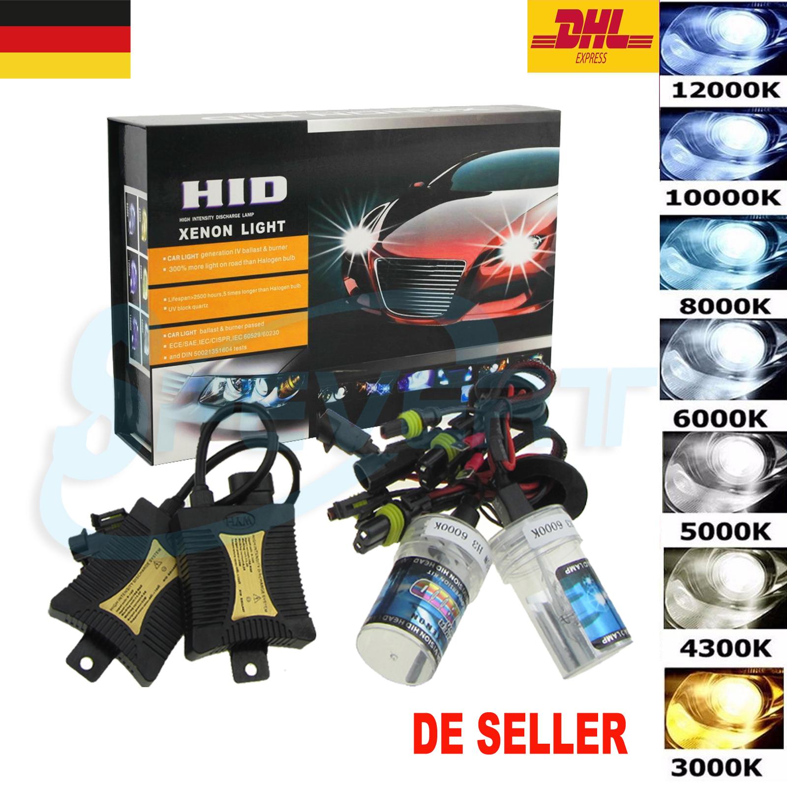 2*D2S Xenon HID Scheinwerfer Ersatz Lampe 8000K 10000K 35W DE
