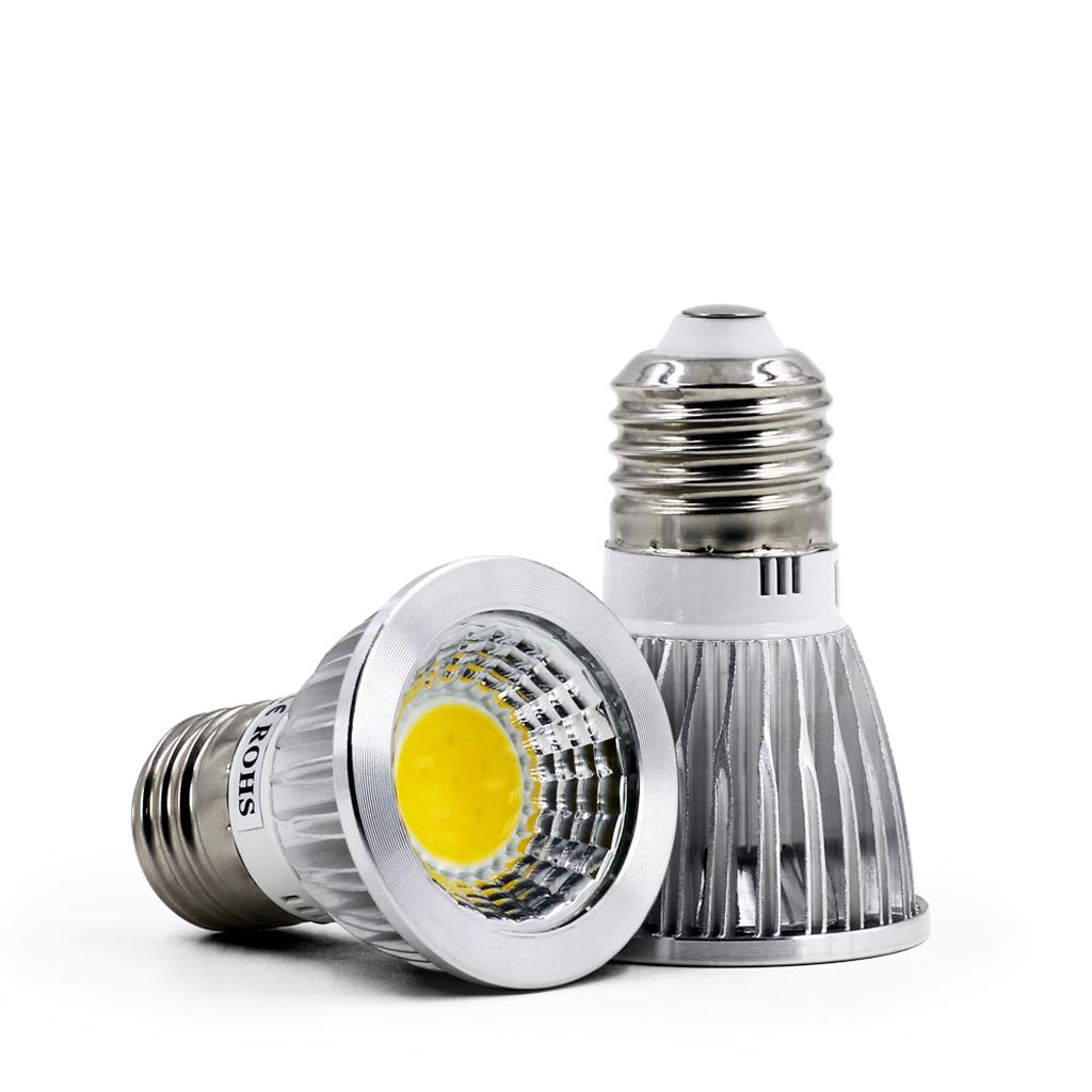 dimmbar gu10 mr16 e27 led cob spot birne strahler 6w 9w 12w lampe leuchtmitt ebay. Black Bedroom Furniture Sets. Home Design Ideas