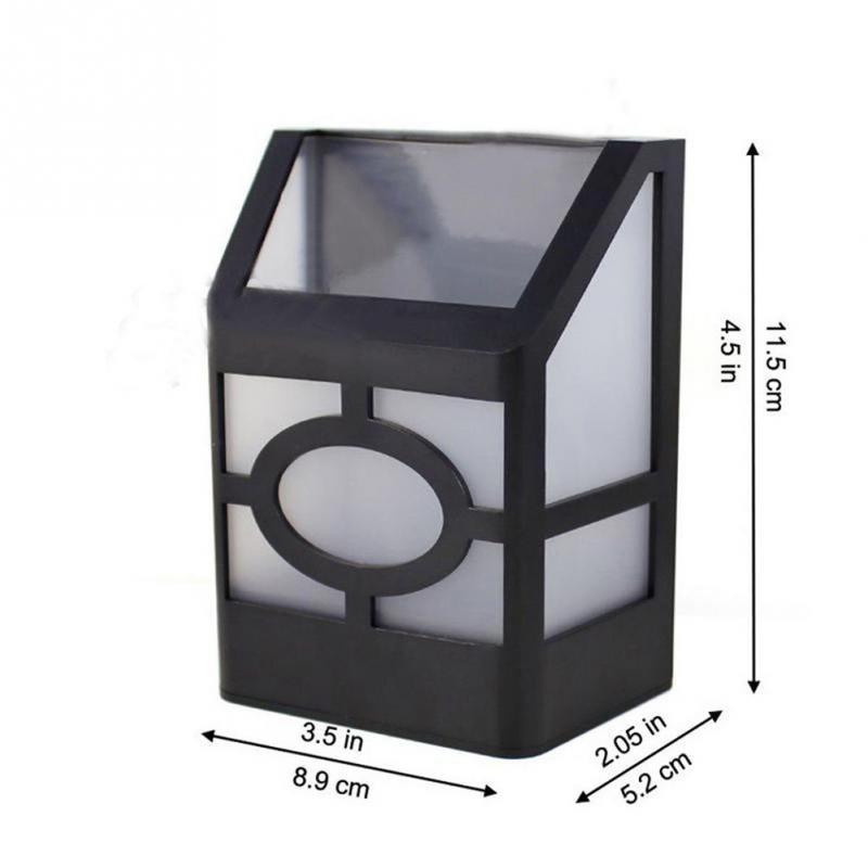LED in Acciaio Inox Lampada Esterno Giardino Bianco Sensore Movimento Cortile Lampada Stand