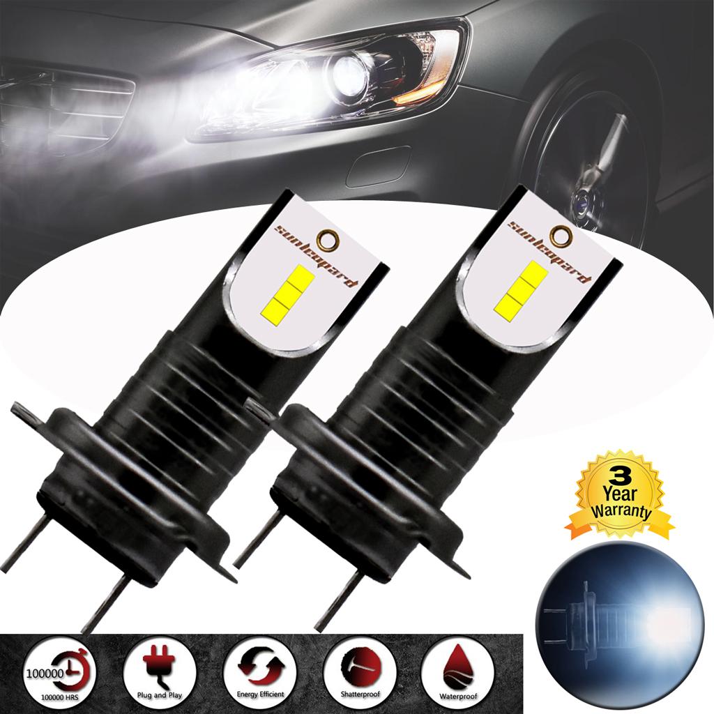 110w h7 birnen 2 auto led scheinwerfer leuchte lampen. Black Bedroom Furniture Sets. Home Design Ideas