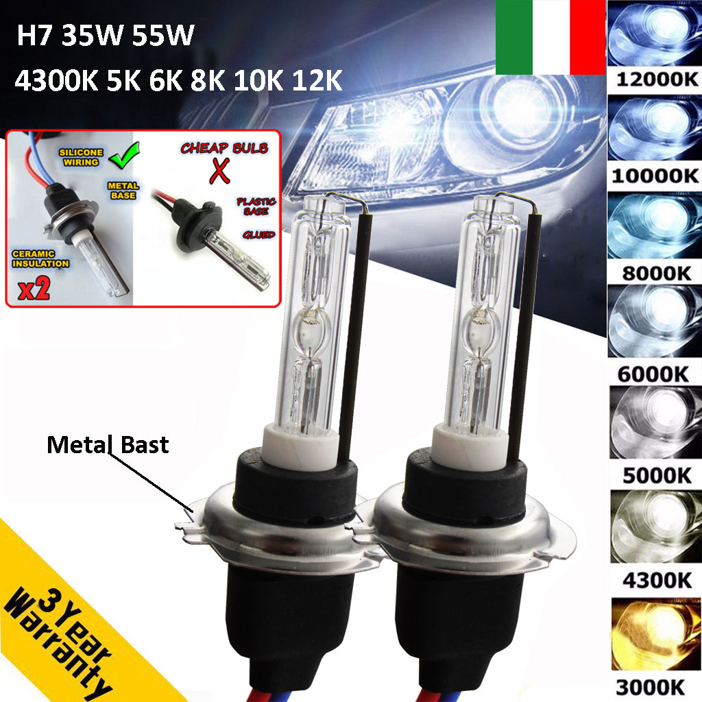 12V 35W Pack of 2 D3S HID Xenon Lampade 5000K
