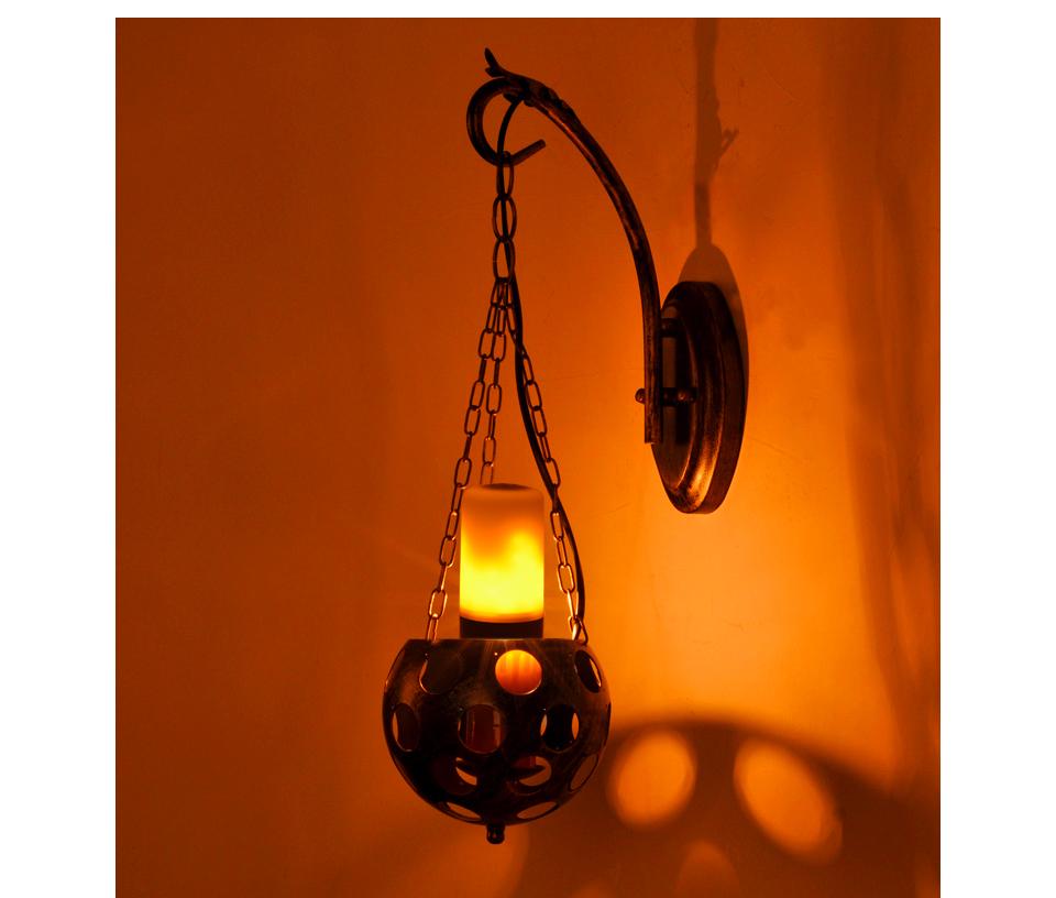 led flamme simuliert brennen flackern feuer gl hbirnen b22 e27 dekoration lampe ebay. Black Bedroom Furniture Sets. Home Design Ideas