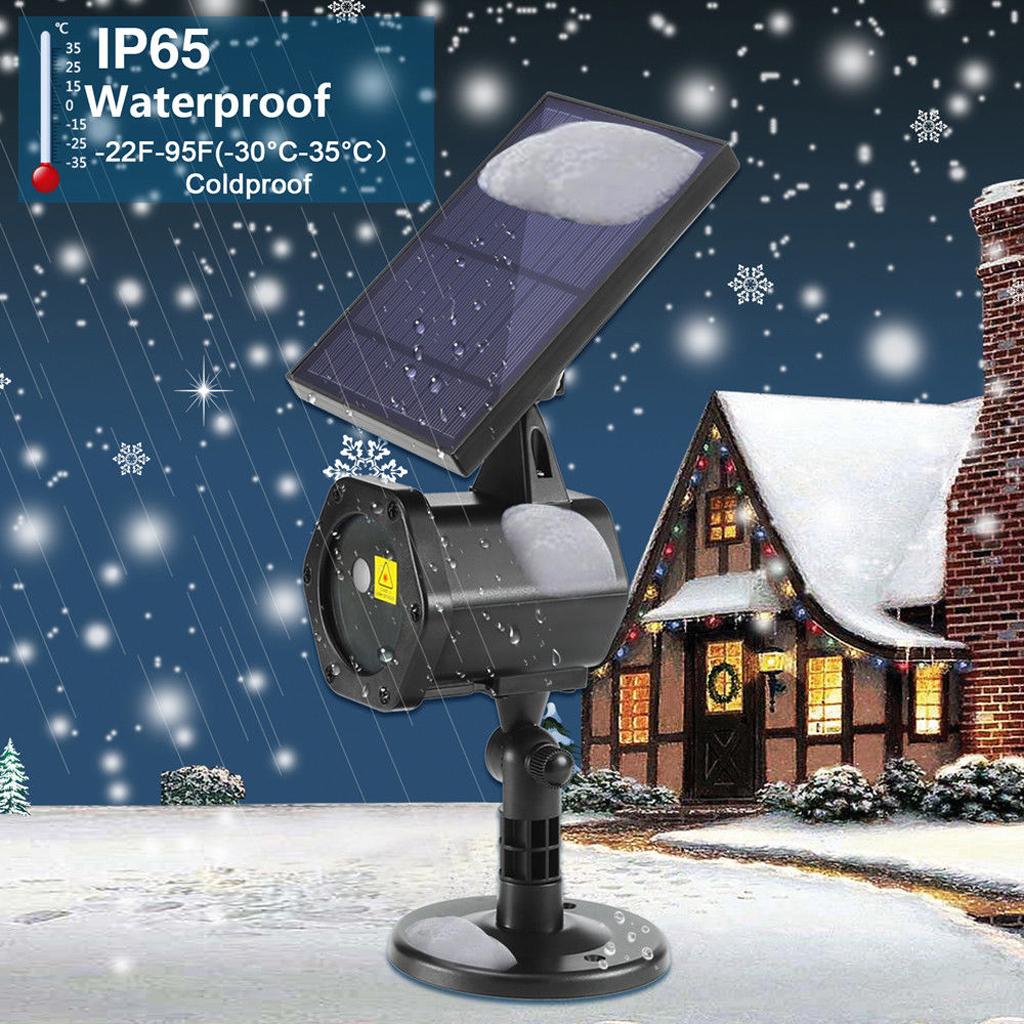 Solar Led Laser Projector Light Flash R Amp G Outdoor Garden