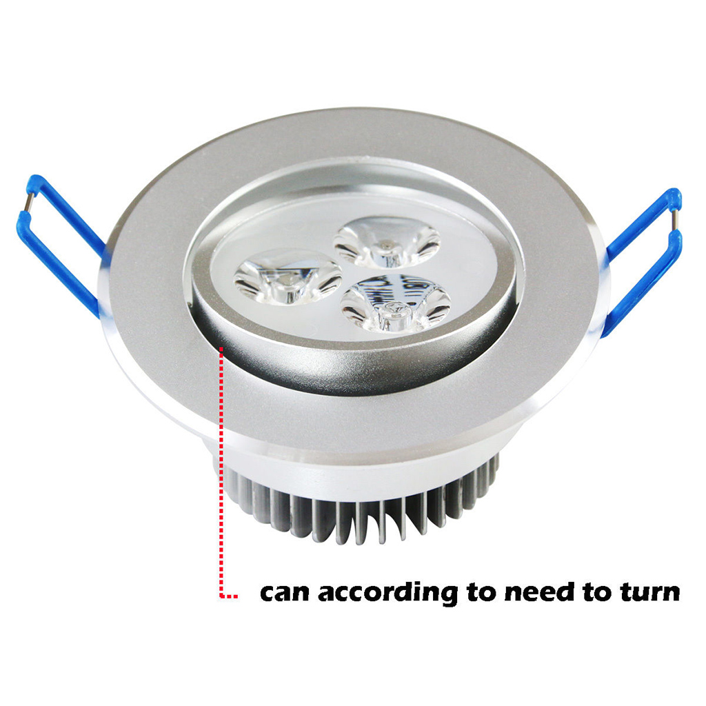 9w 12w 15w Dimmable Led Empotrable Techo Downlight L 225 Mpara