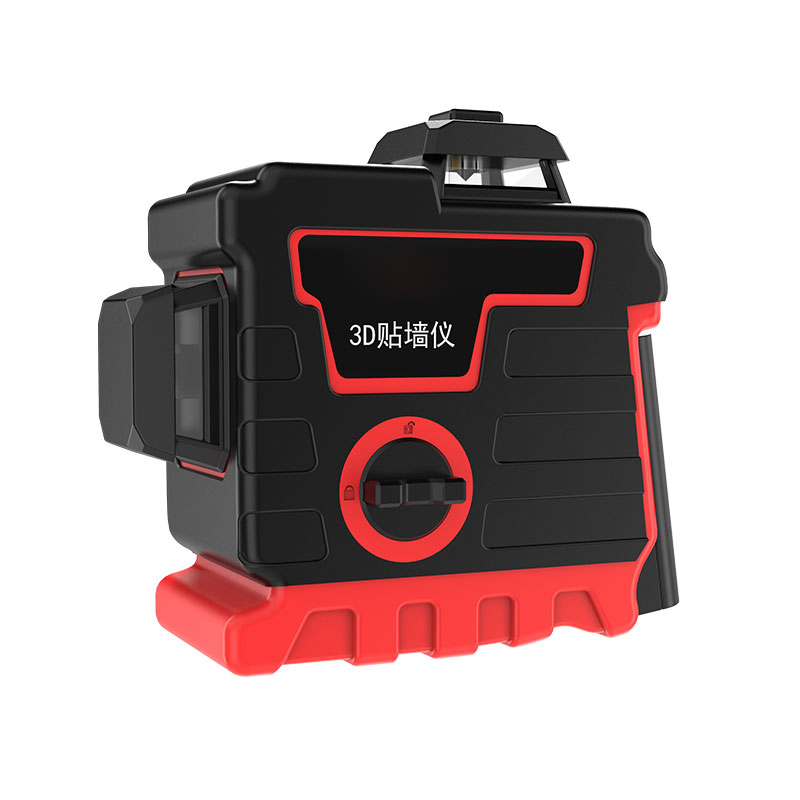 12 Line 360° Laser Level Leveling Outdoor Rotary Cross Beam Measure Tool+Tripod