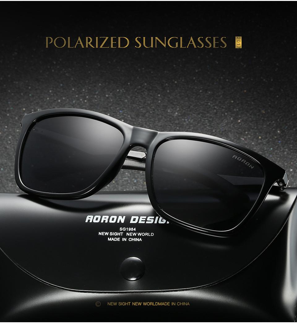 3e81d1b0265 Luxurious Mens Retro Polarized Sunglasses Metal Aviator Glasses ...