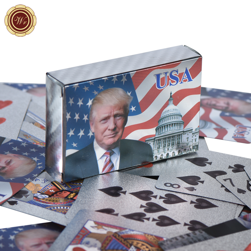 Set of 2 Presidential Donald Trump  deck of cards new