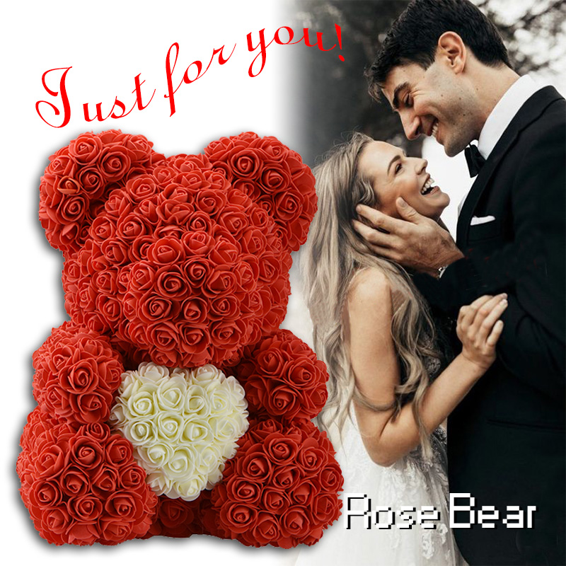 Wr 15 Teddy Rose Bear W Heart 2019 Valentine Birthday Gifts For