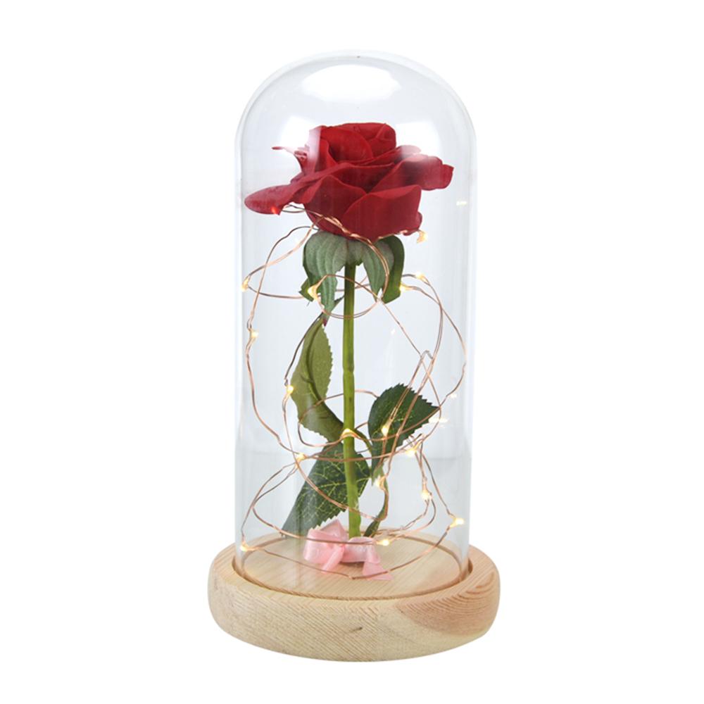 wr die sch ne und das biest verzauberte rose in. Black Bedroom Furniture Sets. Home Design Ideas
