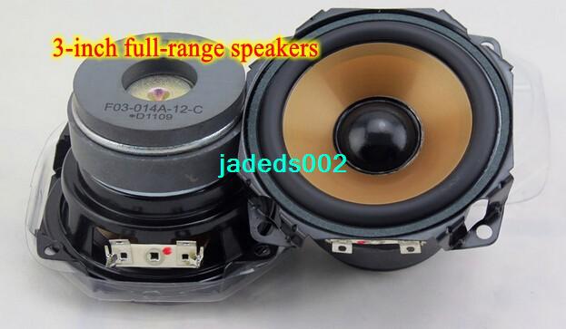 """1pcs 3/""""inch 8ohm 8Ω 20W full-range speakers Loudspeaker Dual magnetic For ALTEC"""