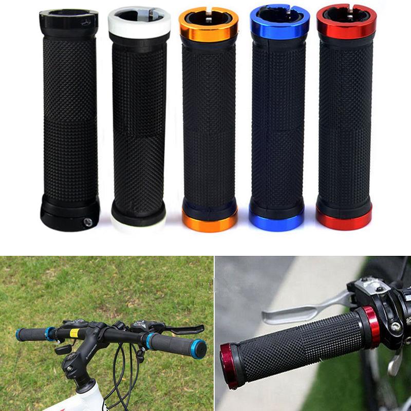 Ergonomic 2pcs Bike Mountain Bicycle MTB Handlebar Rubber Handle Grips Anti-slip