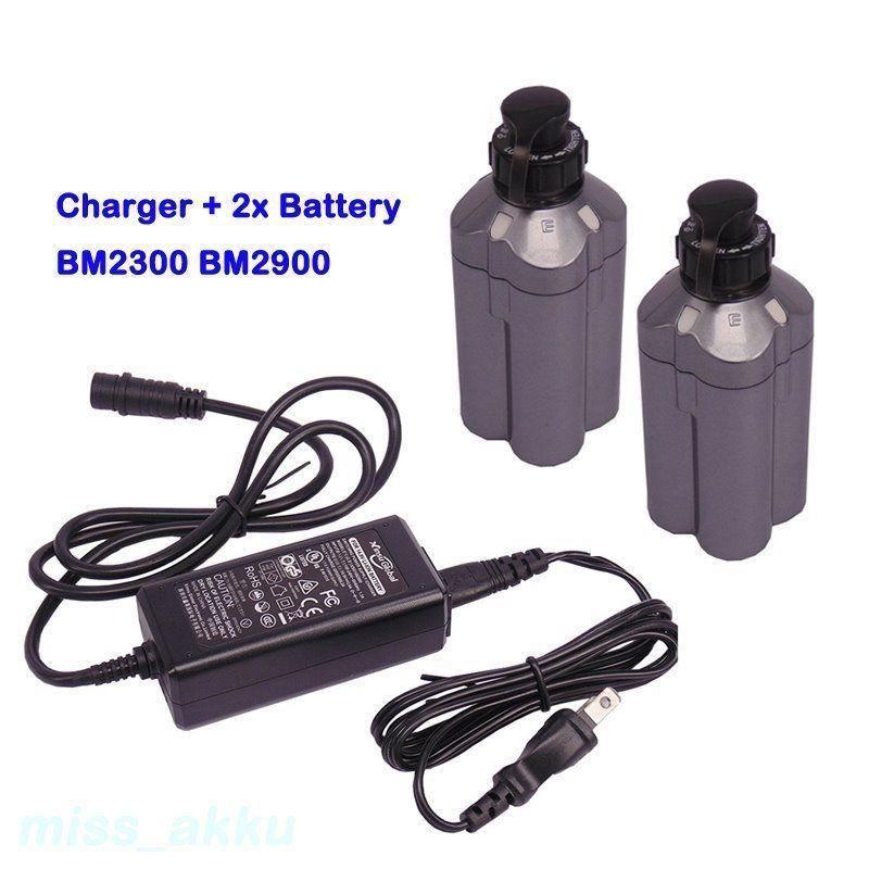 2X Daiwa Tanacom 750 Electric Fishing Reel Battery BM2300 BM2900 /& Charger 14.8V