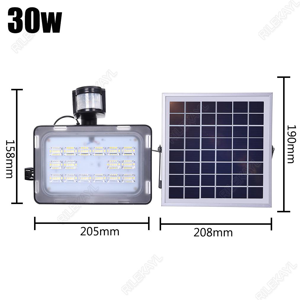 10W-20W-30W-50W-LED-Solar-Sensor-Light-Motion-Detection-Flood-light-Street-Lamp