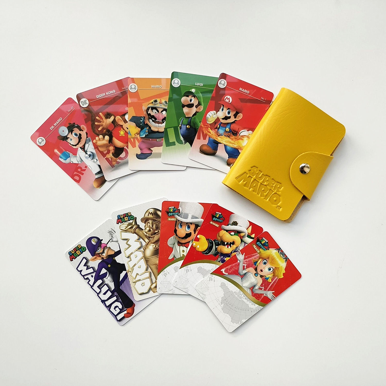 10pcs Pvc Nfc Tarjetas Super Mario Odisea Melocoton Bowser