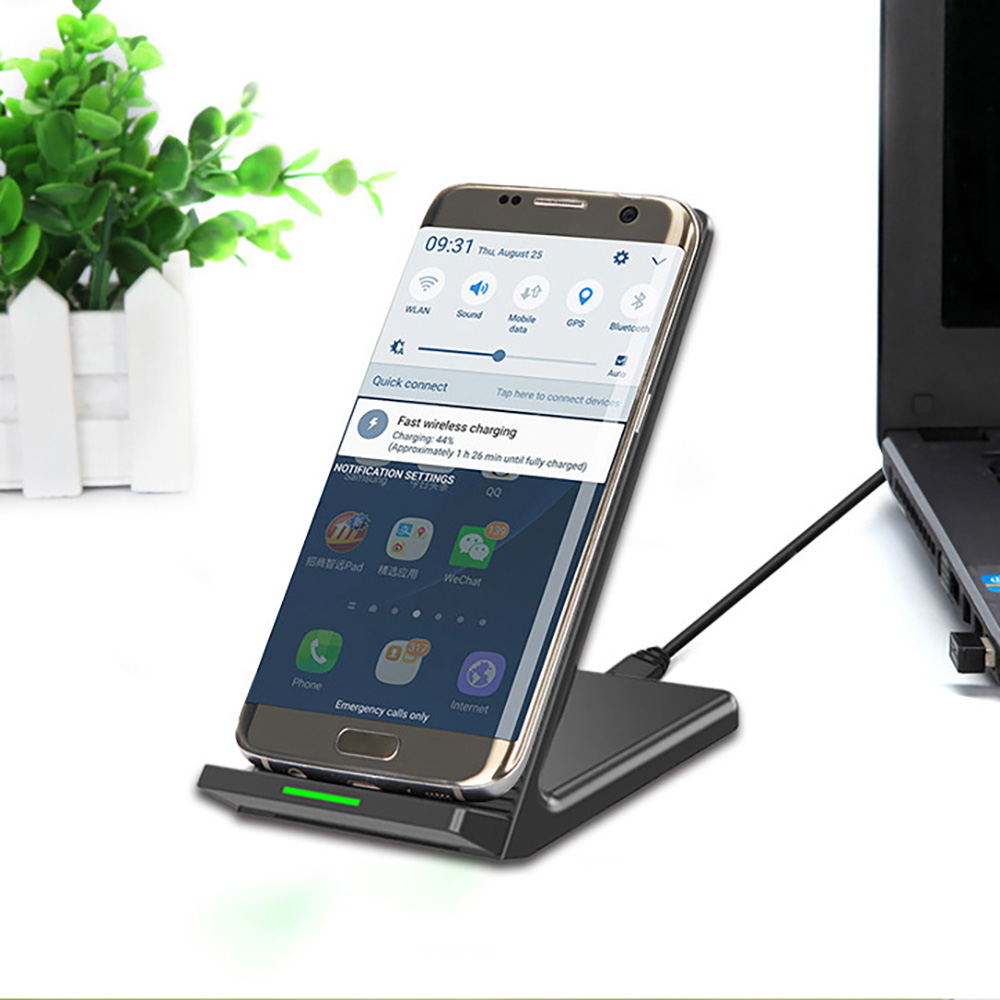 34033b87c40 Qi Wireless Fast Charger Charging Dock Cooling Fan For Samsung S9 For  iPhone X 8