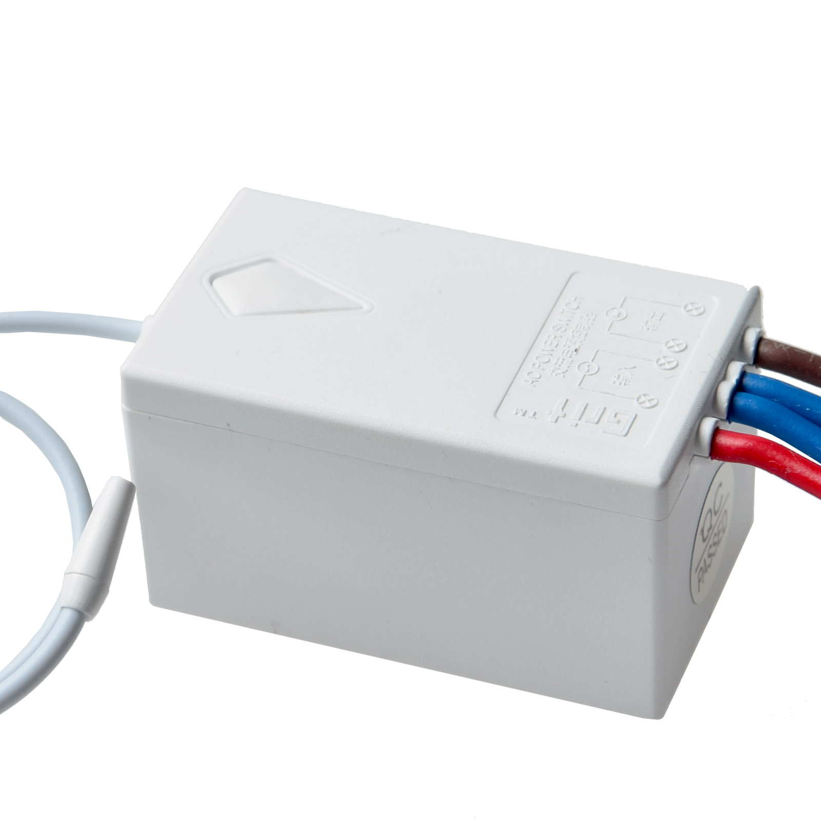 Wireless Smart Lamp Light Wall Switch 2 Ways ON/OFF Remote Control w ...