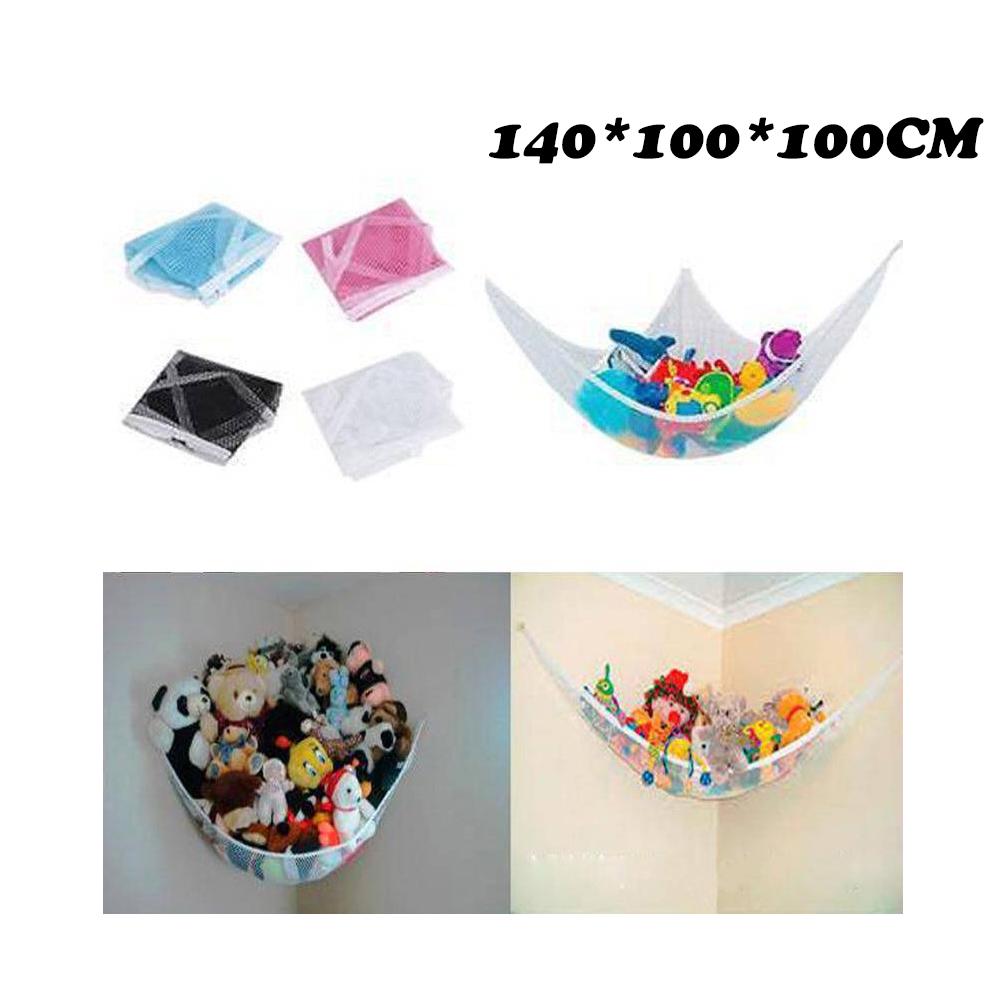 Details About Kids Jumbo Toy Hammock Net Hanging Corner Storage Animals Stuffed Toys Organizer