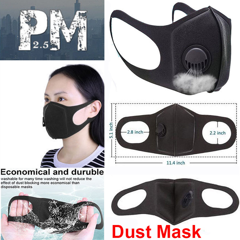 Pollution Smog Kids PM2.5 UK Childrens Half Face Mask Mouth /& Nose Anti Dust