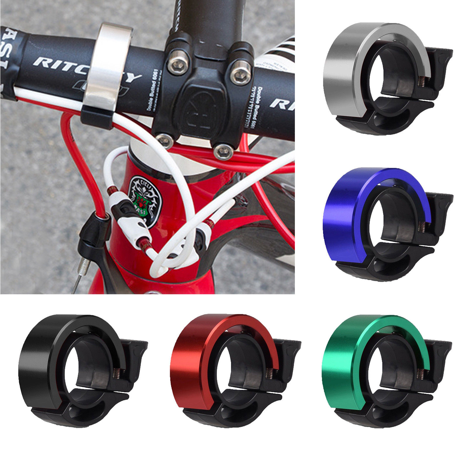 Details about Cycling Bicycle MTB Loud Speaker Bike Bell Ring Alarm & Compass Metal Horns UK
