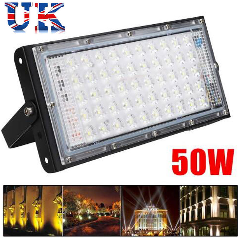 Solor USB Rechargeable 50W COB LED Portable Flood Light Outdoor Spot Work Lamp