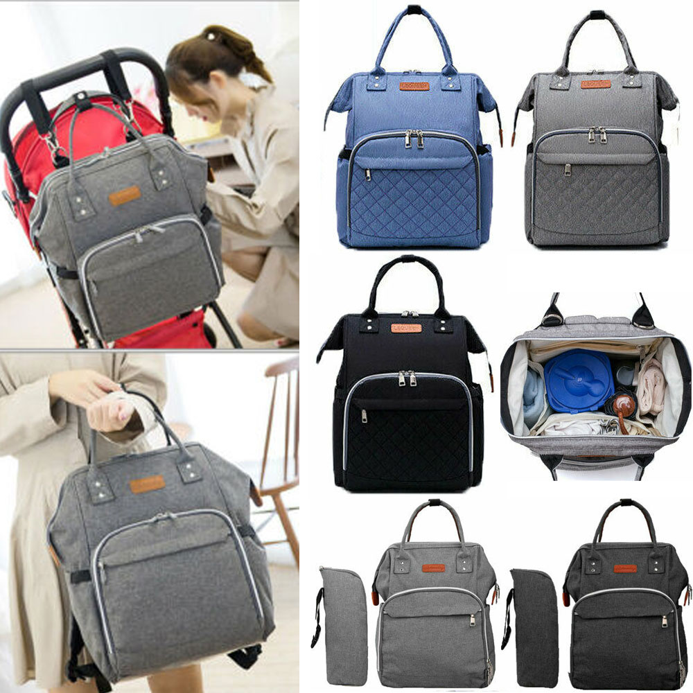 Multi-Function Mummy Baby Diaper Nappy Changing Bag Backpack Changing Bag T