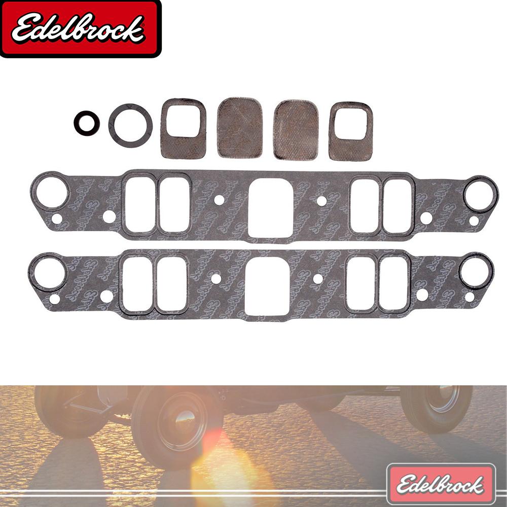 S Edelbrock 7280 Engine Intake Manifold Gasket Set-VIN