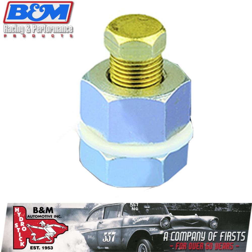 B Amp M 80250 Universal Drain Plug Kit Transmission Oil Pan