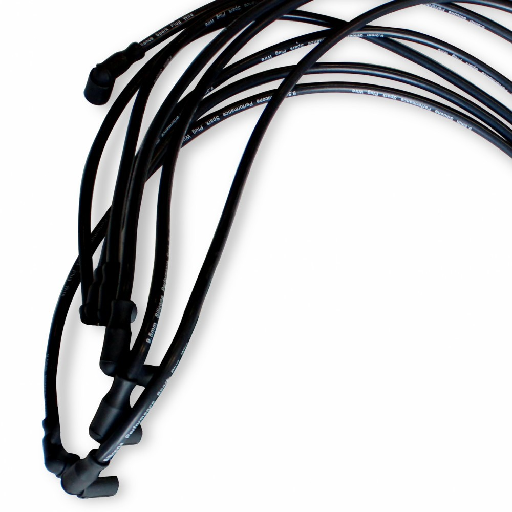For Bbc Sbc Sbf Chevy Ford 302 305 350 Spark Plug Wires Hei 90 Buick Hood Tach Wiring Diagram Degree Boots