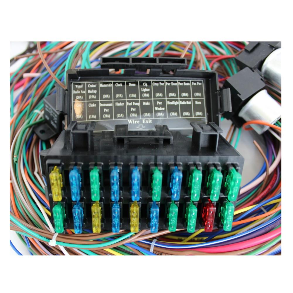 406e45c7 5e80 4c8c ba95 42d2ecaadfb9 12v 24 circuit 15 fuse street hot rat rod wiring harness wire kit rat rod wiring harness at nearapp.co