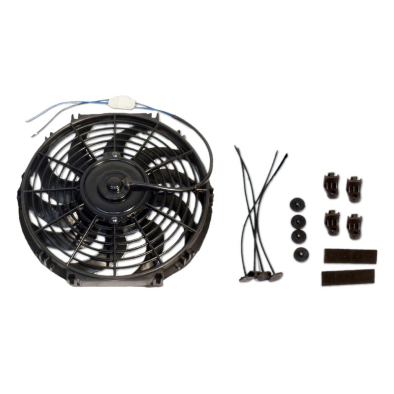 16 inch electric radiator s blade cooling fan 12v 3000cfm