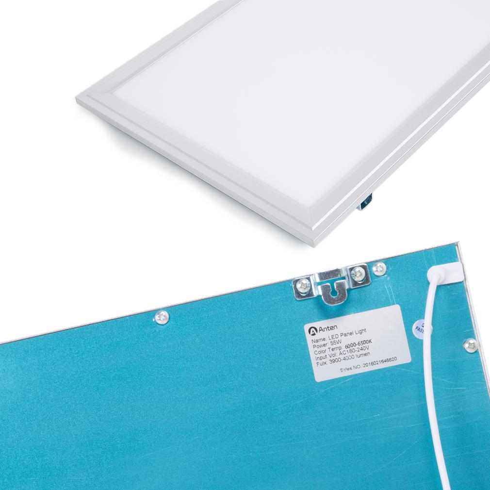 Led panel lampe deckenleuchte leuchte pendelleuchte wandleuchte ultraslim b ro ebay - Pendelleuchte buro ...